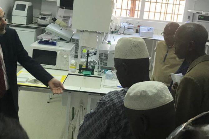 Le premier laboratoire de l'Institut Pasteur de Guinée a été officiellement inauguré le 22 octobre 2018
